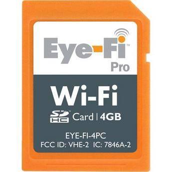 Eye-Fi 4GB Wi-Fi Pro SDHC Memory Card
