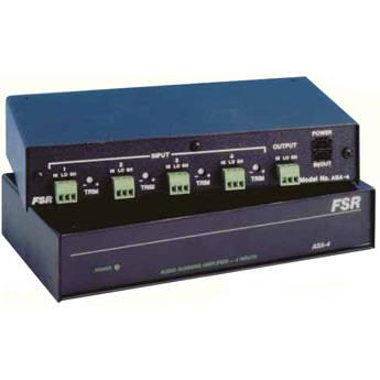 FSR ASA-4 - 4 Input Audio Summer