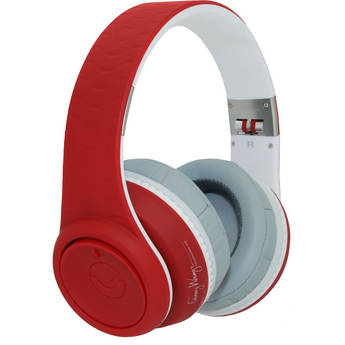 Fanny Wang 2000 Series Over Ear Wangs Headphones (Red/White)
