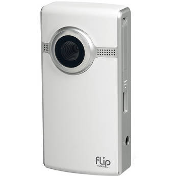 Flip Video Ultra Camcorder (White)