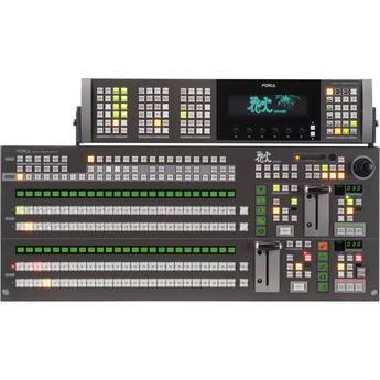 For.A HVS-3800S-24OUA SD 2M/E Digital Video Switcher
