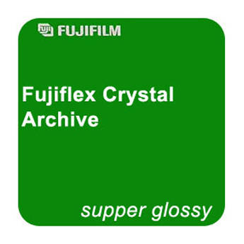 "FUJIFILM Fujiflex Crystal Archive Printing Material (Super Glossy, 50"" x 131' Roll)"