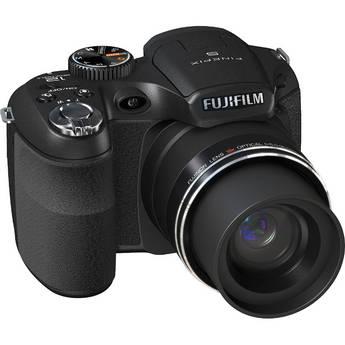 Fujifilm S2550HD 12 MP Digital Camera (Black)