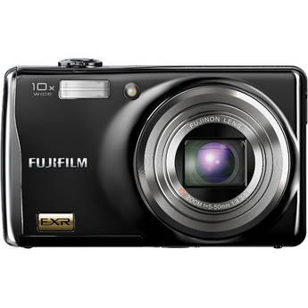 Fujifilm F80EXR 12 MP Digital Camera (Black)