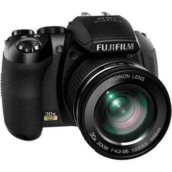 Fujifilm HS10 10MP Digital Camera (Black)