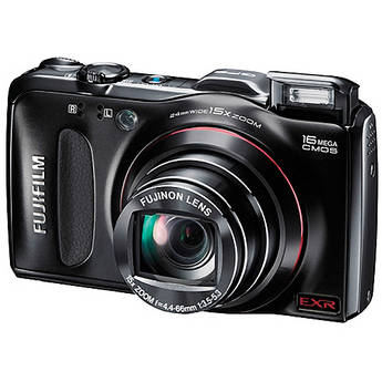 Fujifilm FinePix F550EXR Digital Camera (Black)