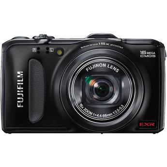 Fujifilm FinePix F600EXR Digital Camera (Black)