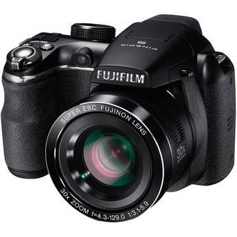 Fujifilm FinePix S4500 Digital Camera (Black)