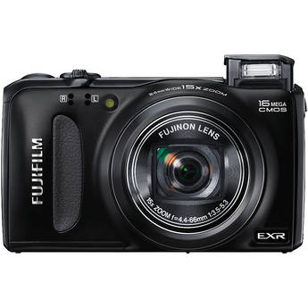 Fujifilm FinePix F660EXR Digital Camera (Black)