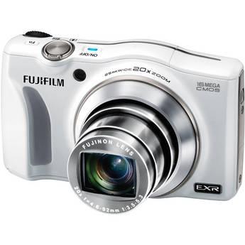 Fujifilm FinePix F750EXR Digital Camera (White)