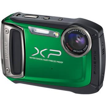 Fujifilm FinePix XP100 Digital Camera (Green)