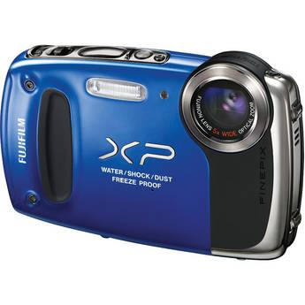 Fujifilm FinePix XP50 Digital Camera (Blue)