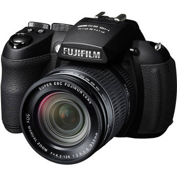 Fujifilm FinePix HS25EXR Digital Camera (Black)