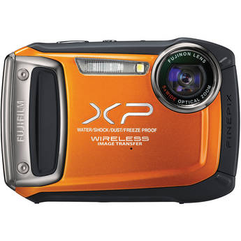 Fujifilm FinePix XP170 Digital Camera (Orange)