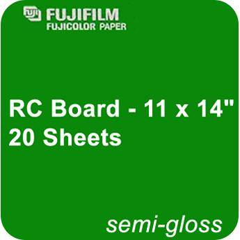 "Fujifilm Semi Gloss RC Board - 11 x 14"" - 20 Sheets"