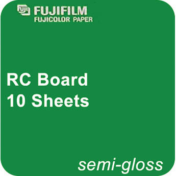 "FUJIFILM 20 x 30"" Semi-Gloss Resin-Coated Board (10 Sheets)"