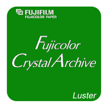 "FUJIFILM Fujicolor Crystal Archive Paper Type II (4"" x 610' Roll, Luster)"