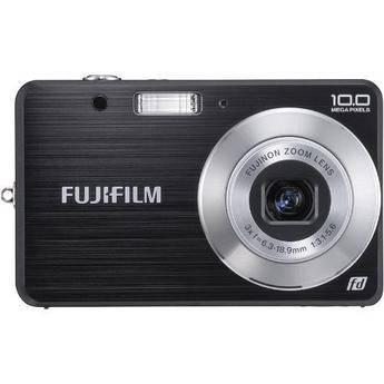 Fujifilm FinePix J20 Digital Camera with Basic Accessory Kit (Black)