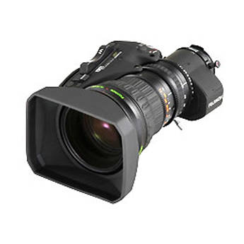 """Fujinon A18x7.6ERD-S 2/3"""" 18x Lens for ENG/EFP Cameras, 2x Extender, Servo Focus and Zoom"""