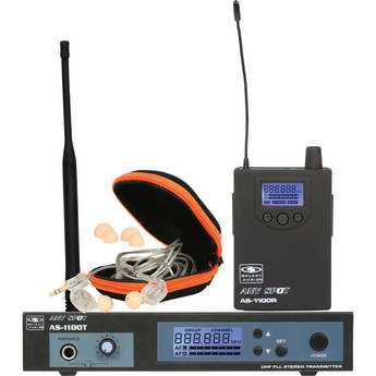 Galaxy Audio AS-1110 Personal Stage Monitoring System with EB10 Ear Phones