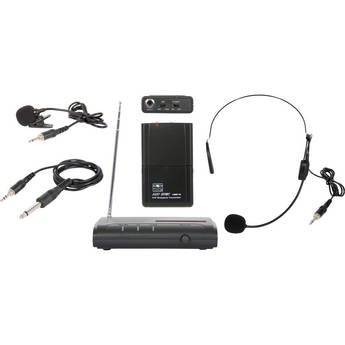 Galaxy Audio VES Triple Play Wireless Microphone System (V59)