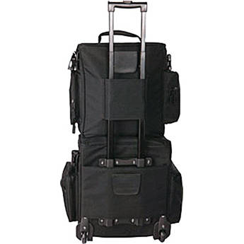 Gator Cases DJ Cart with Attached Bag
