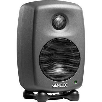 Genelec 6010A Bi-Amplified Nearfield Monitor Speaker (Black)