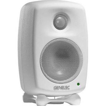 Genelec 6010A Bi-Amplified Nearfield Monitor Speaker (White)