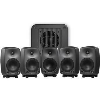Genelec 8030A Broadcast Pack 5.1 Surround Sound System (Black)