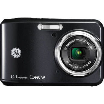 General Electric C1440W Digital Camera (Black)