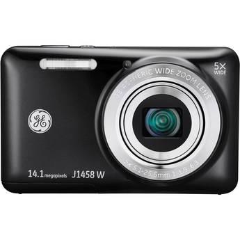 General Electric J1458W Digital Camera (Black)