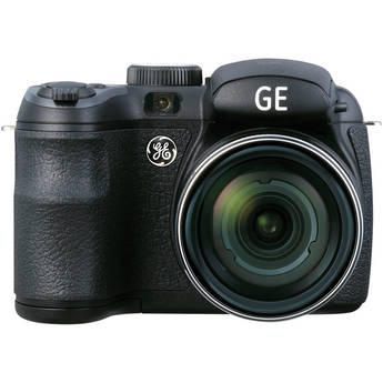 General Electric X500 Bridge Digital Camera (Black)