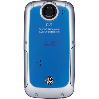 General Electric DV1 1080p HD Digital Video Camera (Aqua Blue)