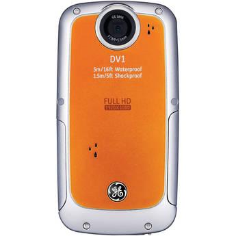 General Electric DV1 1080p HD Digital Video Camera (Orange)