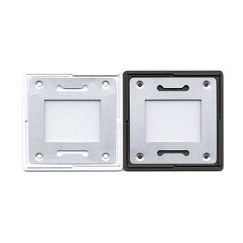 Gepe 21 x 28mm (2.3mm Thick) TV Anti-Newton Glass Slide Mounts - 20 Mounts
