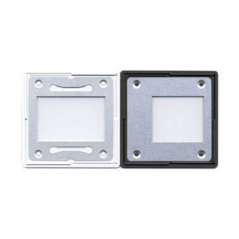 Gepe 24 x 27mm (2.3mm Thick) Off-Centered Glass Slide Mounts - 5 Mounts