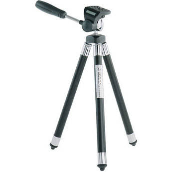 Giottos RT-8150 8-Section Compact Tripod with 3-Way Head (Black)