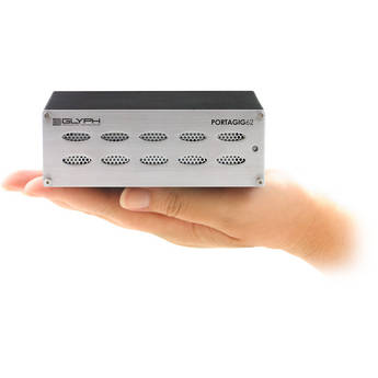 Glyph Technologies 1TB PortaGig 62 Portable Hard Drive