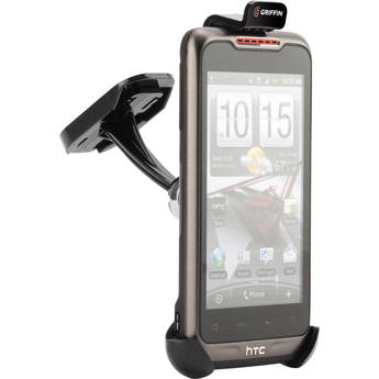 Griffin Technology Window Mount Car Cradle for MP3 Players & Smartphones