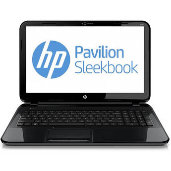 "HP Pavilion Sleekbook 15-b010us 15.6"" Notebook PC (Sparkling Black)"