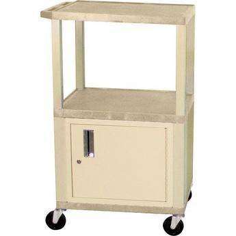 "H. Wilson WT2642CEPQ  Tuffy Cabinet Cart (24 x 26-42 x 18"") (Putty)"