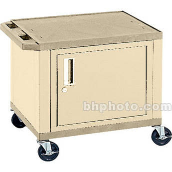 """H. Wilson 26"""" Tuffy Cart w/Cabinet & Electric (Putty)"""