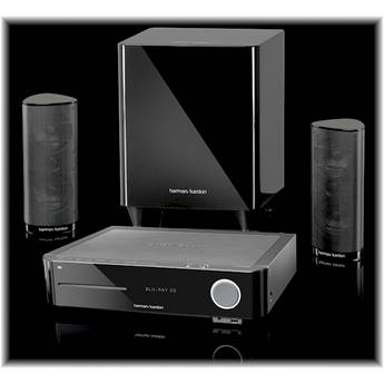 Harman Kardon BDS 370 2.1-Channel Home Theater System w/ 3D Blu-ray Receiver