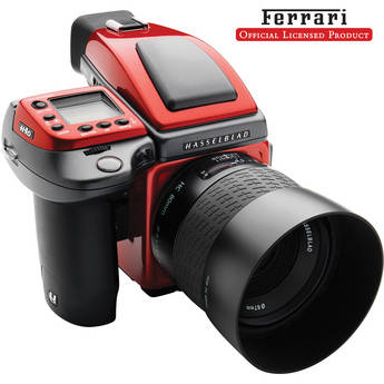 Hasselblad H4D-40 Ferrari Limited Edition Medium Format DSLR Camera with 80mm f/2.8 HC Lens