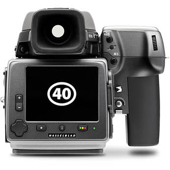 Hasselblad H4D-40 Stainless Steel Limited Edition Medium Format DSLR Camera