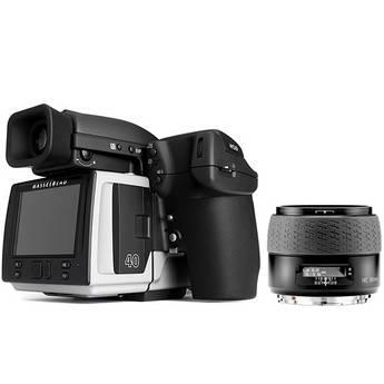 Hasselblad H5D-40 Medium Format DSLR Camera with 80mm f/2.8 HC AF Lens