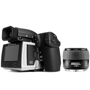 Hasselblad H5D-60 Medium Format DSLR Camera with 80mm f/2.8 HC AF Lens