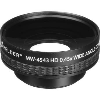 Helder MW-4543 43mm HD 0.45x Wide Angle Conversion Lens