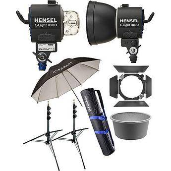 Hensel C-Light 1000 Continuous Two-Light Kit
