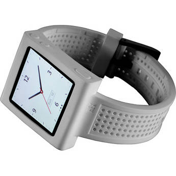 Hex Sport Watch Band for iPod nano 6th Generation (White)